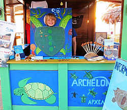 A wish comes true from the ARCHELON volunteers in the South Gulf of Kyparissia