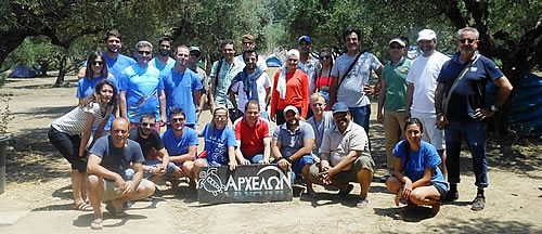 Participation of ARCHELON at the MedPAN marine turtle exchange visit