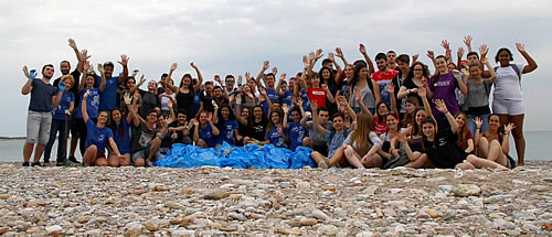 ARCHELON, and Let's do it Greece participates in Glyfada's beach cleaning